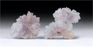 Amethyst & Quartz Crystal Flowers