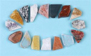 Azozeo Azeztulite Gemstone Grid Sets