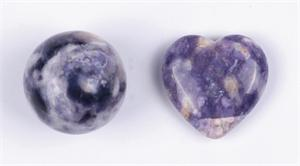 Violet Flame Opal Gemstone Shapes