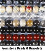 Gemstone Bead Strands and Bracelets