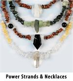 Power Strands and Gemstone Necklaces