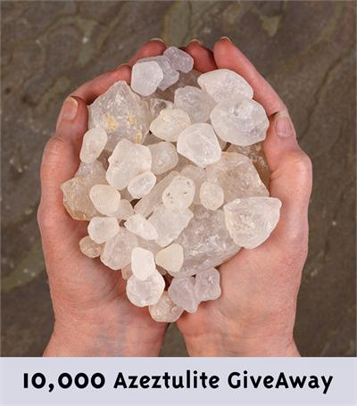 10,000 Azeztulite Giveaway Project
