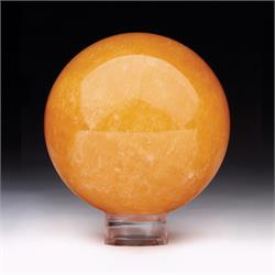 Orange Calcite Polished Shapes