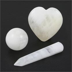 White-Azeztulite-Gemstone-Shapes