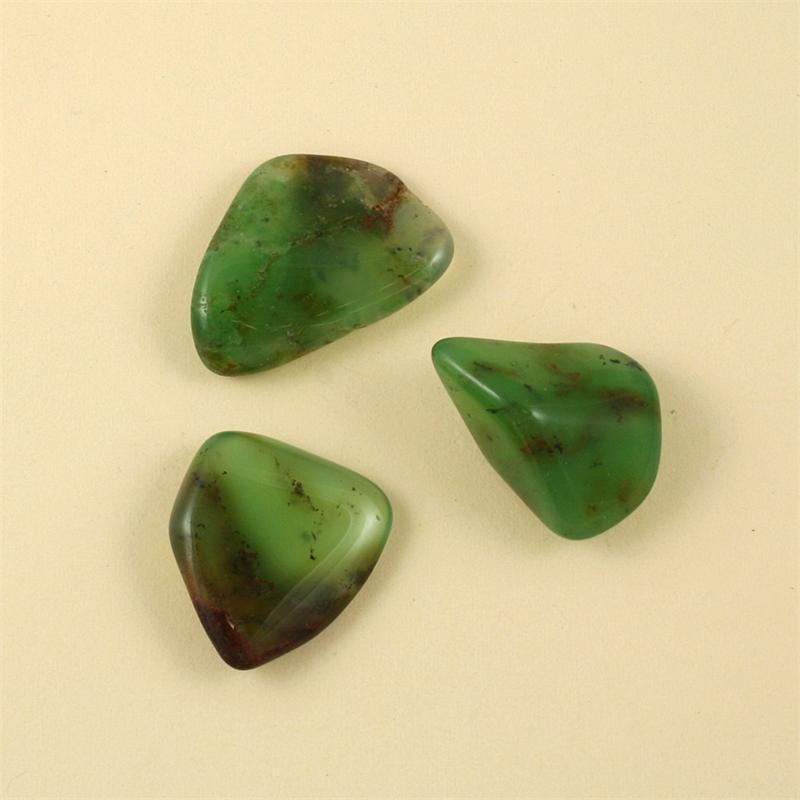 chrysoprase australian tumbled polished gemstones