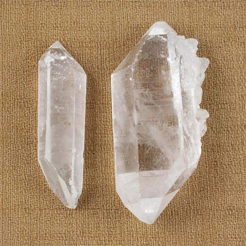 how to clean quartz crystals with salt