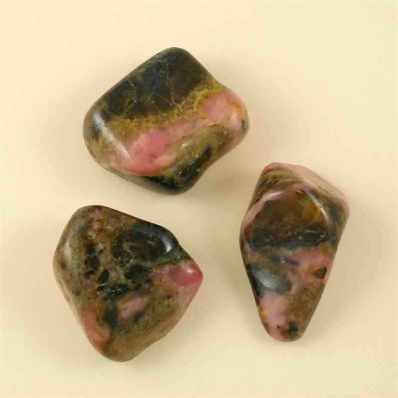 bustamite tumbled polished gemstones