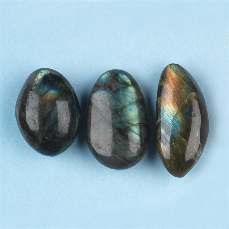 Spectrolite labradorite tumbled polished gemstones small