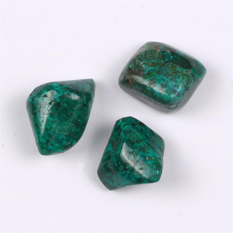 dioptase tumbled polished gemstones