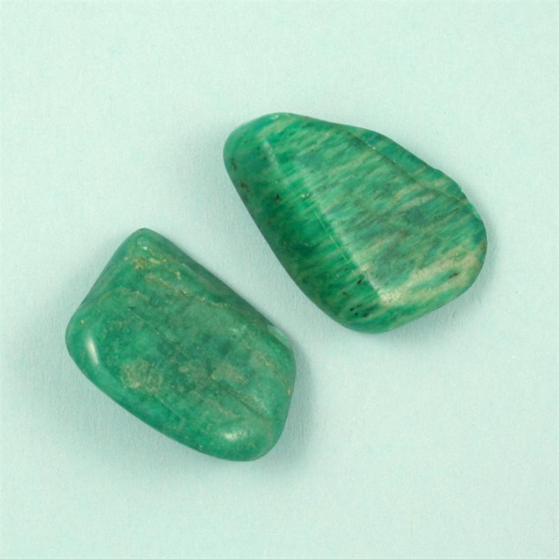 amazonite tumbled polished gemstones