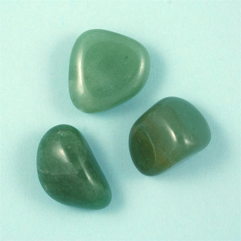 aventurine green tumbled polished gemstones