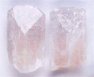Large Pink Danburite Crystals