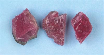 Rhodonite Crystal Pieces