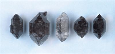 Tibetan Black Quartz Points