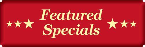 Heaven & Earth Featured Specials