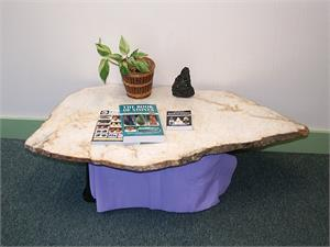 White Azeztulite Table Top