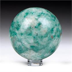 Green Kyanite Spheres