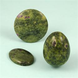 Serpentine-Stichtite-Gemstone-Shapes