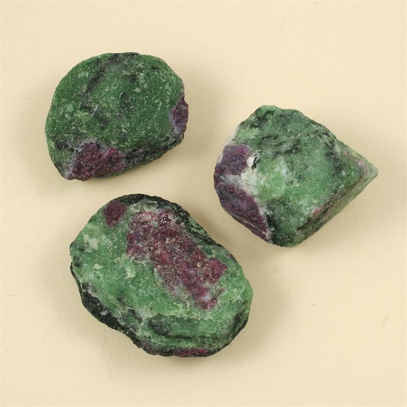 Ruby Zoisite Raw Stones
