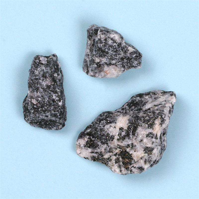 Azeztulite Black Tourmaline Raw Stones